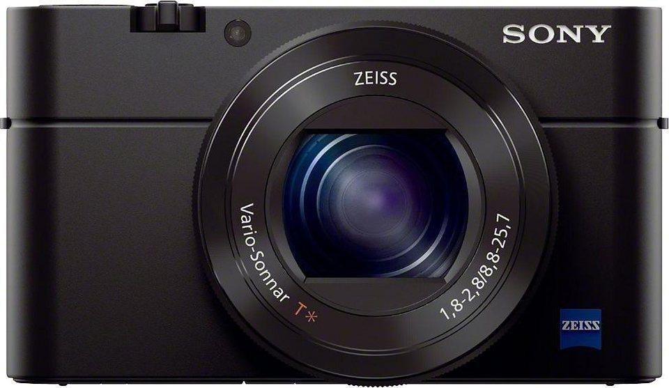 Sony Cyber-Shot DSC-RX100M3 Kompakt Kamera, 20,2 Megapixel, 2,9x opt. Zoom, 7,5 cm (3 Zoll) Display in schwarz
