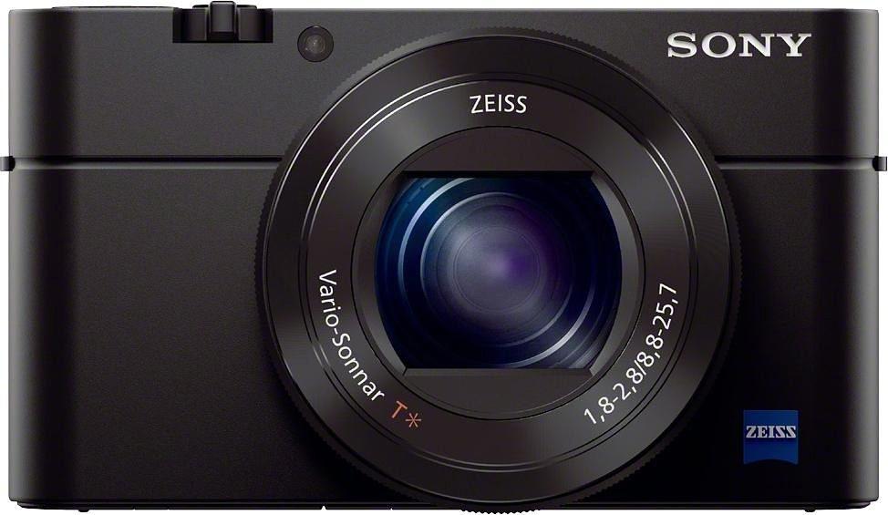Sony Cyber-Shot DSC-RX100M3 Kompakt Kamera, 20,2 Megapixel, 2,9x opt. Zoom, 7,5 cm (3 Zoll) Display