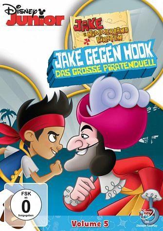DVD »Jake und die Nimmerland Piraten - Jake gegen...«