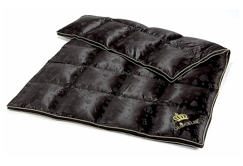 Gänsedaunenbettdecke Glööckler by KBT Bettwaren Seiden Luxus, Warm