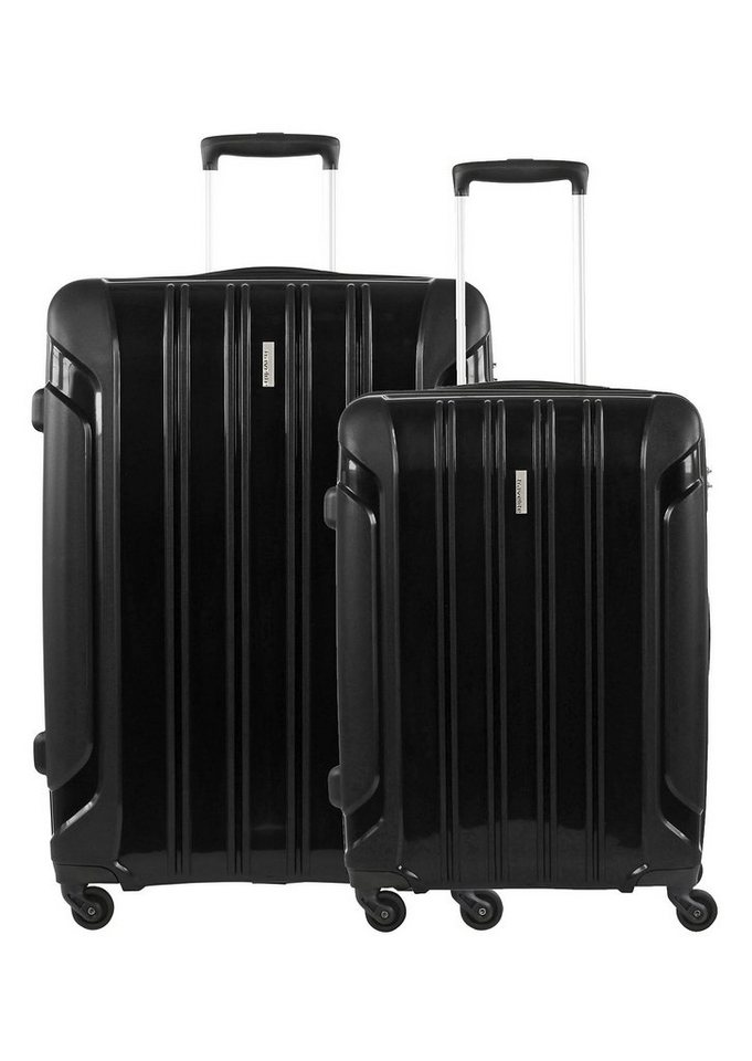 travelite, Trolley-Set mit 4 Rollen, »Colosso« (2tlg.) in schwarz