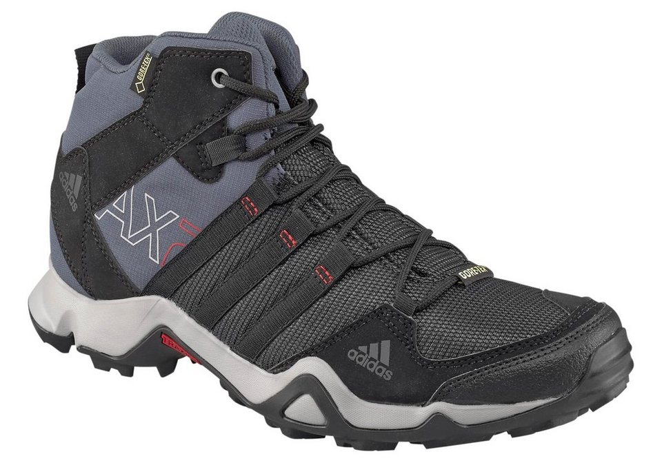 adidas Performance Adidas AX2 Mid GORE-TEX Outdoorschuh in Grau-Schwarz