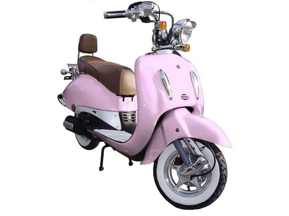 Gt Union Mofa »Strada«, 50 ccm, 25 km/h in rosa