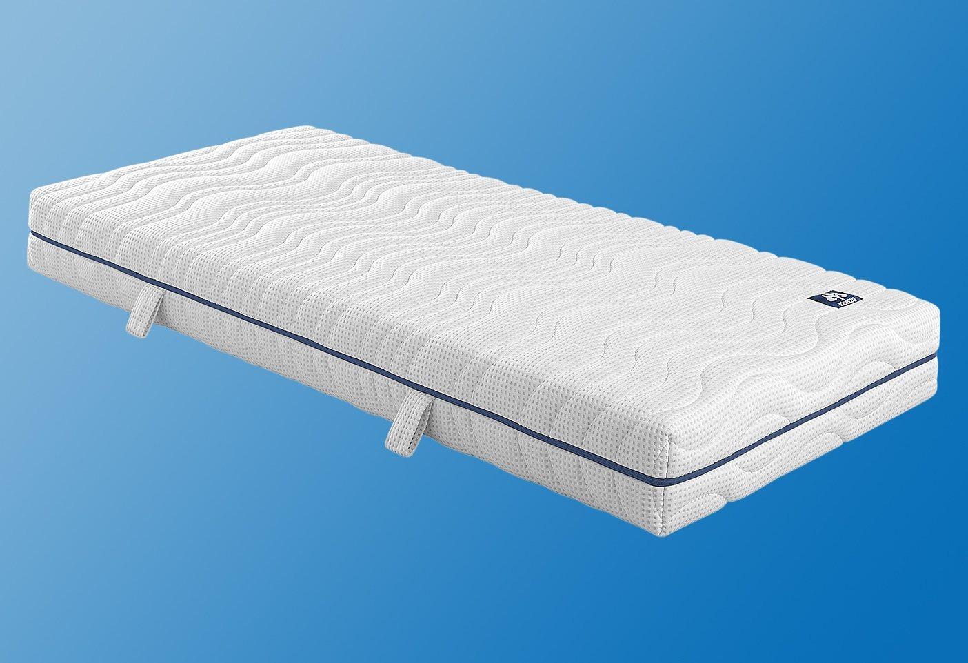Kaltschaummatratze »Gel-Therm 400«, Irisette, 20 cm hoch, Raumgewicht: 40, (1-tlg) | Schlafzimmer > Matratzen > Kaltschaum-matratzen | Irisette