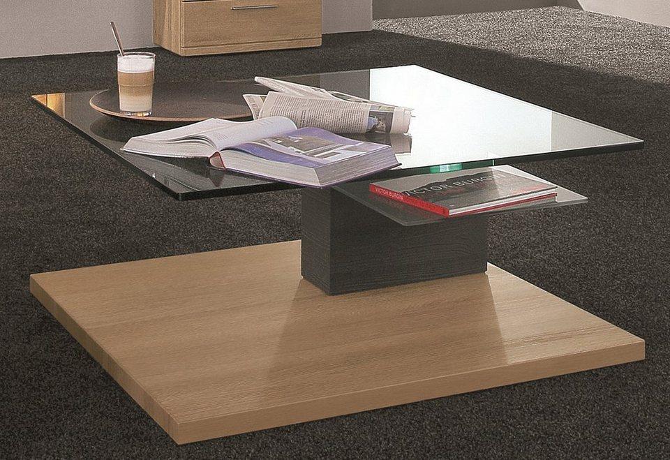 HARTMANN Glastisch »Viva«, Breite 95 cm in braun