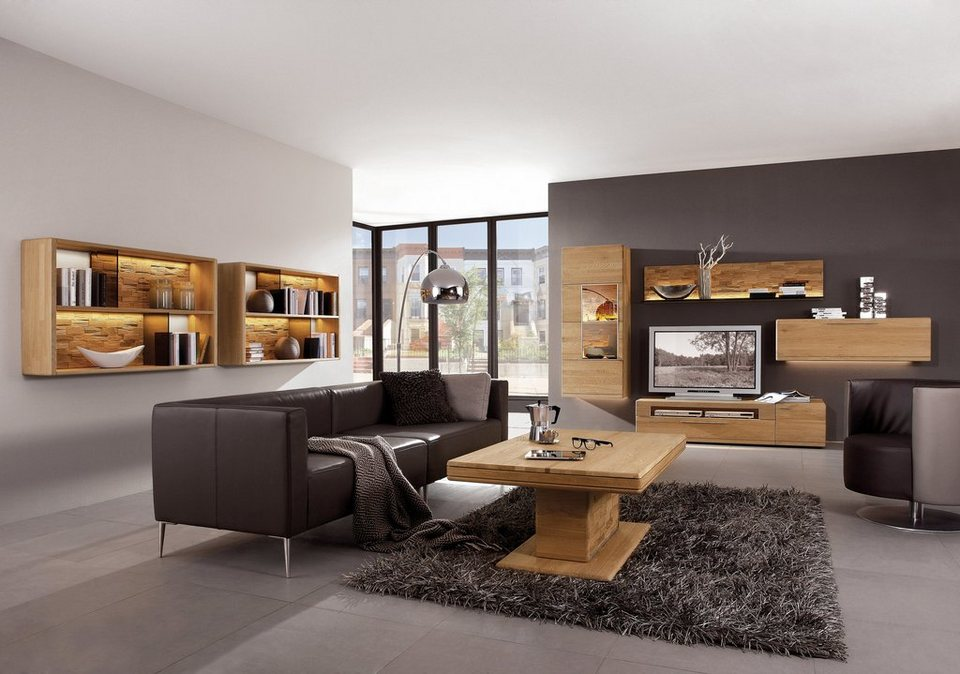 einrichtungsideen wohnzimmer gem tlich braun. Black Bedroom Furniture Sets. Home Design Ideas
