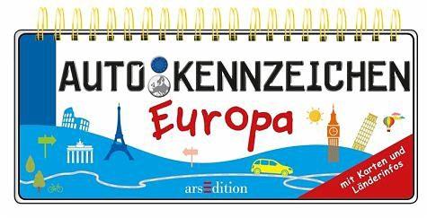 Broschiertes Buch »Autokennzeichen Europa«
