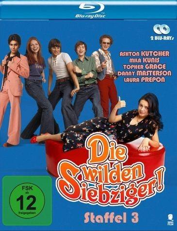 Blu-ray »Die wilden Siebziger - Staffel 3 (2 Discs)«