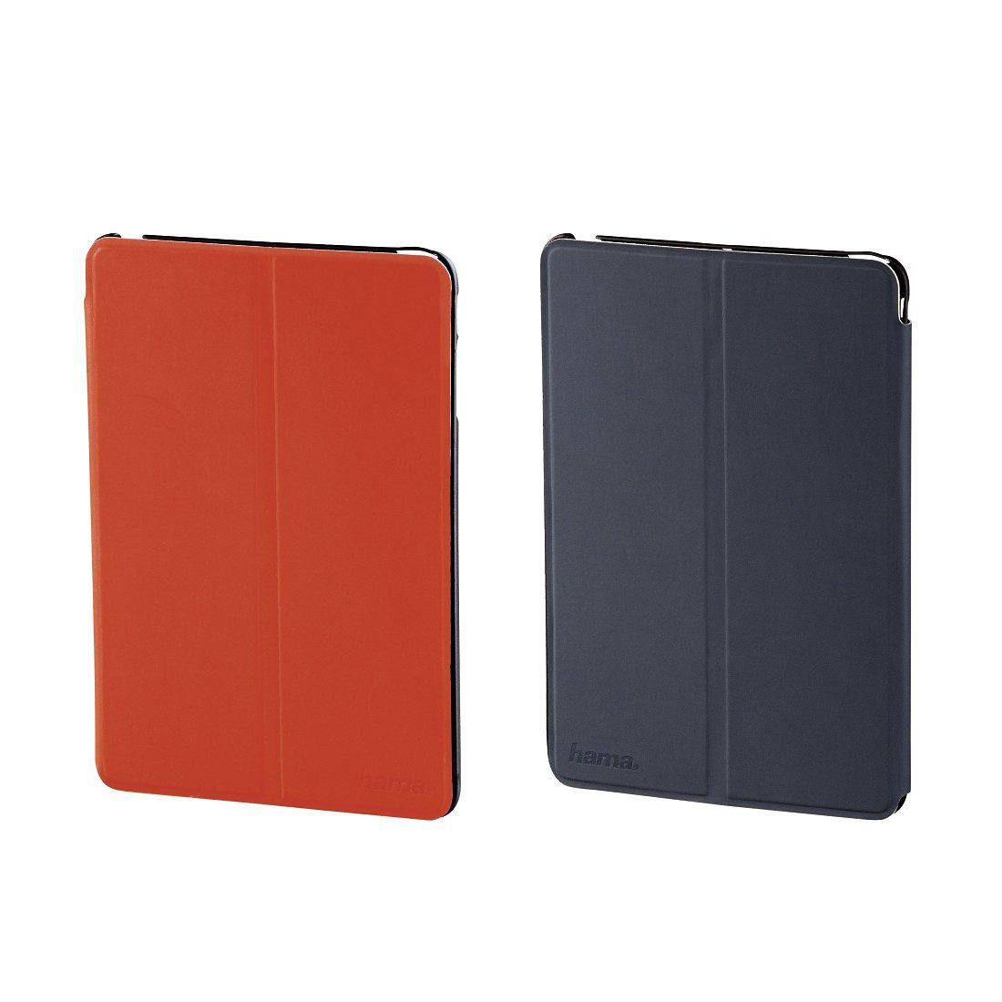 Hama Portfolio Twiddle für iPad Air, Orange/Grau