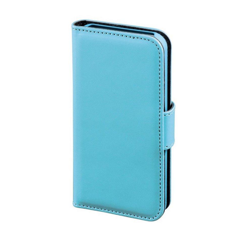 Hama Booklet Diary Case für Apple iPhone 4/4S, Blau in Blau
