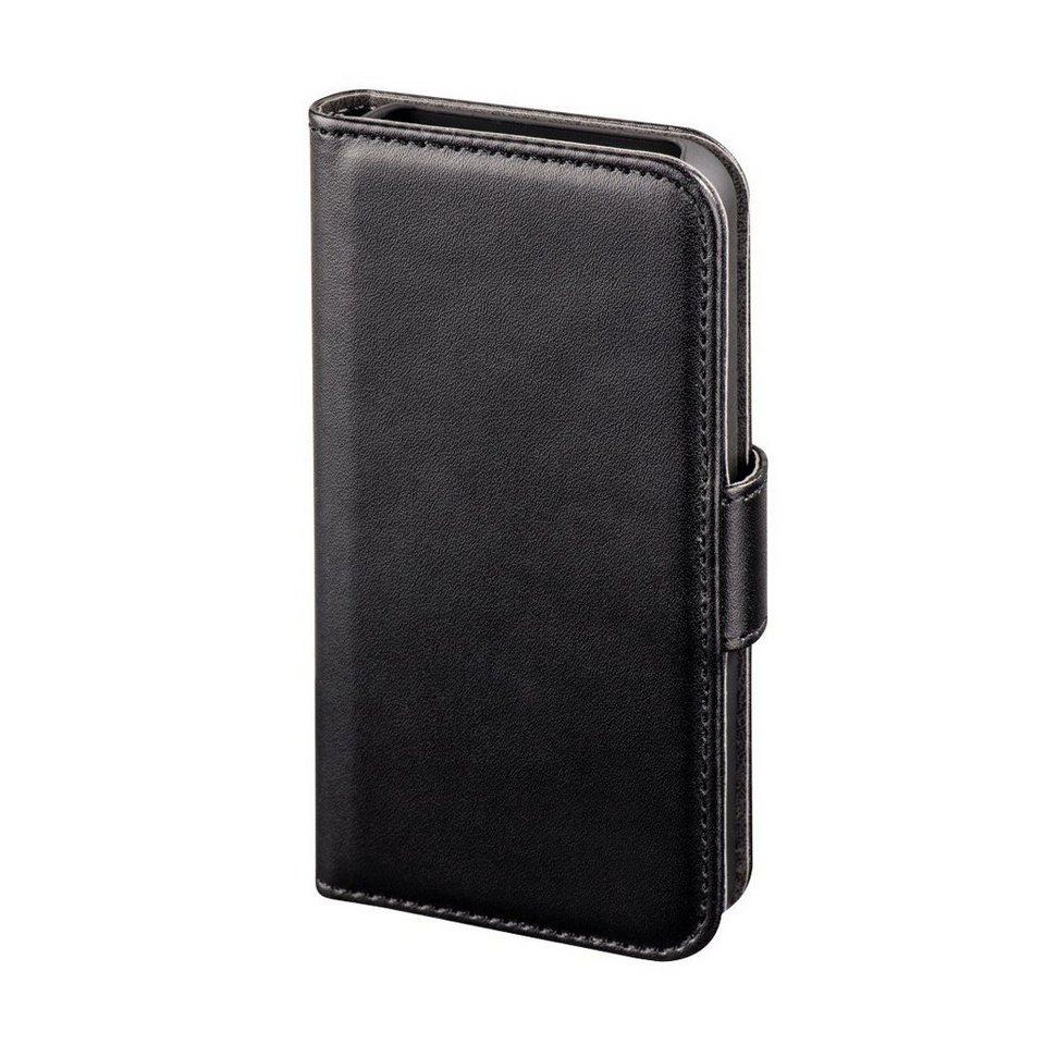 Hama Booklet Diary Case für Apple iPhone 4/4S, Schwarz in Schwarz