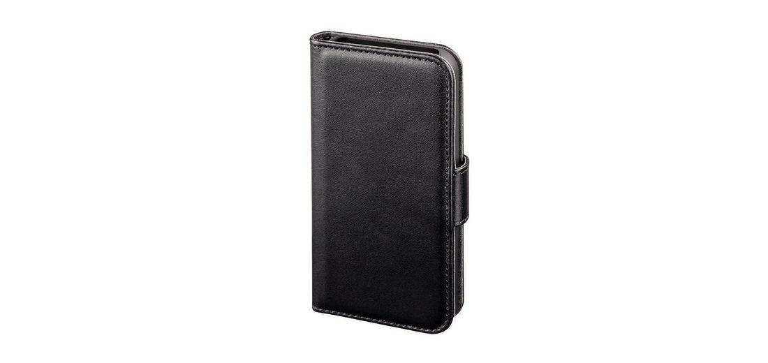 Hama Booklet Diary Case für Apple iPhone 4/4S, Schwarz