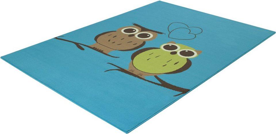 Kinder-Teppich, Trend Teppiche, »LUNA-532353«, gewebt in blue