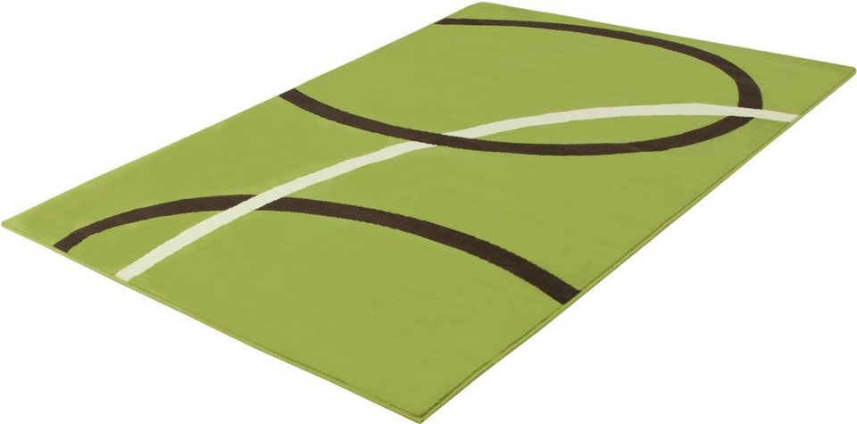 Teppich, Trend Teppiche, »CIRCLES-501251« in lime