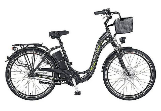 Didi THURAU Edition E-Bike »Alu-City Comfort 7 Plus«, 7 Gang Shimano, Nabenschaltung, Frontmotor 250 W*