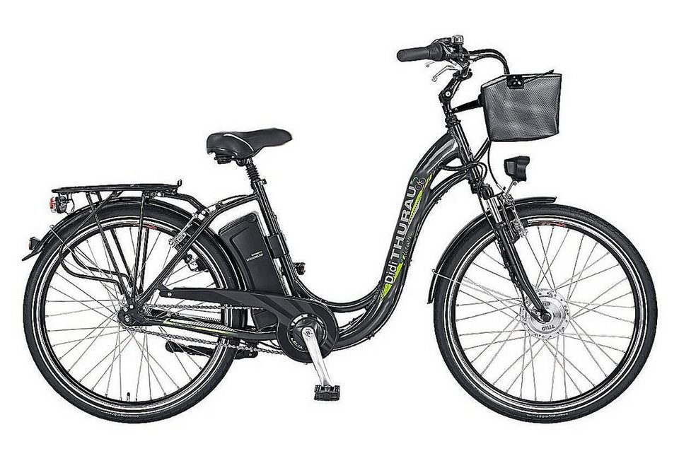 e bike city 28 zoll 3 gang shimano nabenschaltung alu city comfort didi thurau edition. Black Bedroom Furniture Sets. Home Design Ideas