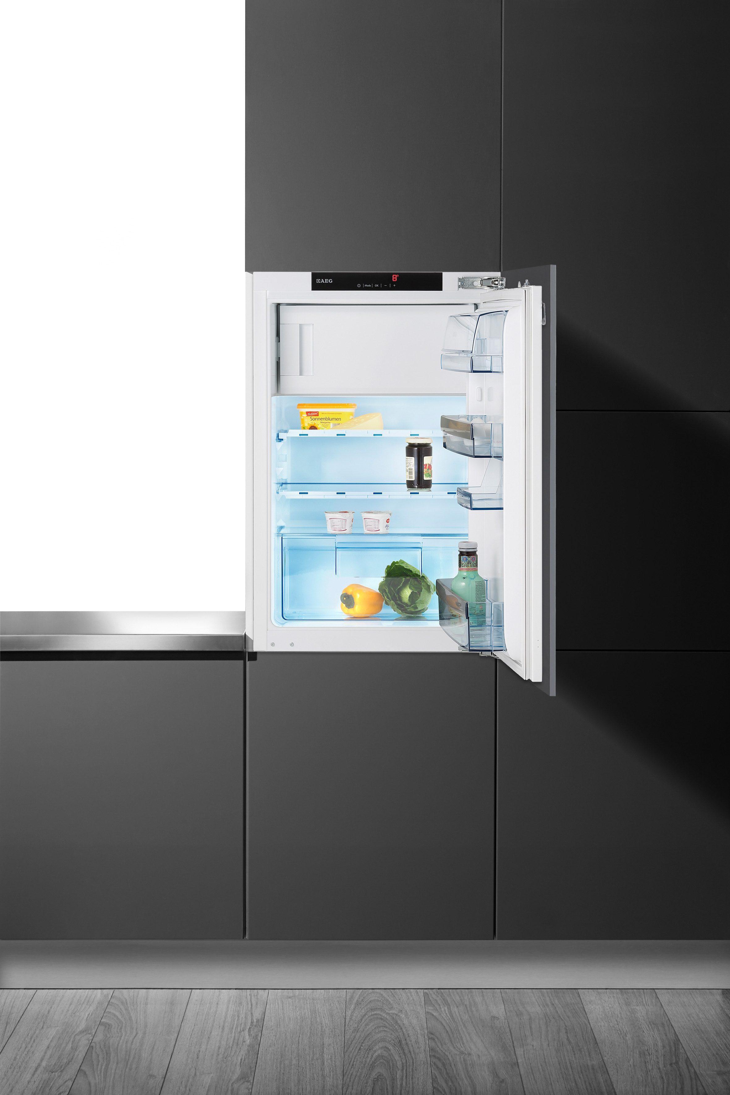 AEG Einbaukühlschrank SANTO SKS98840C4, A+++, 87 cm hoch