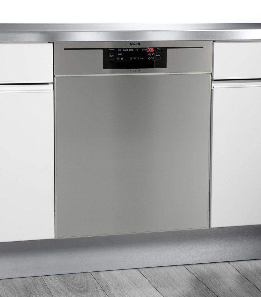 aeg unterbau geschirrsp ler favorit f66602um0p a 10 2 liter 13 ma gedecke online kaufen otto. Black Bedroom Furniture Sets. Home Design Ideas