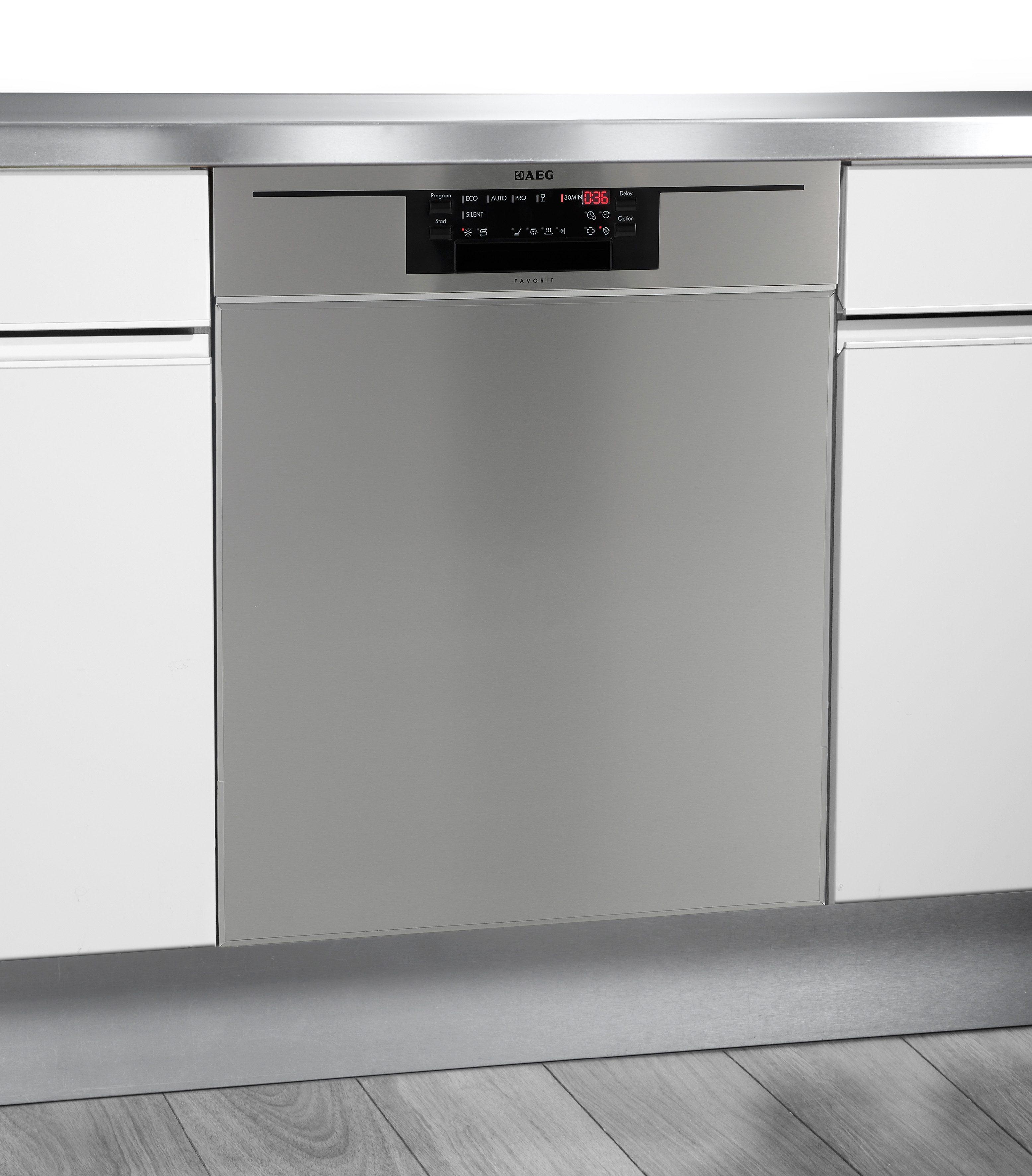 AEG Unterbau Geschirrspüler FAVORIT F66602UM0P, A++, 10,2 Liter, 13 Maßgedecke