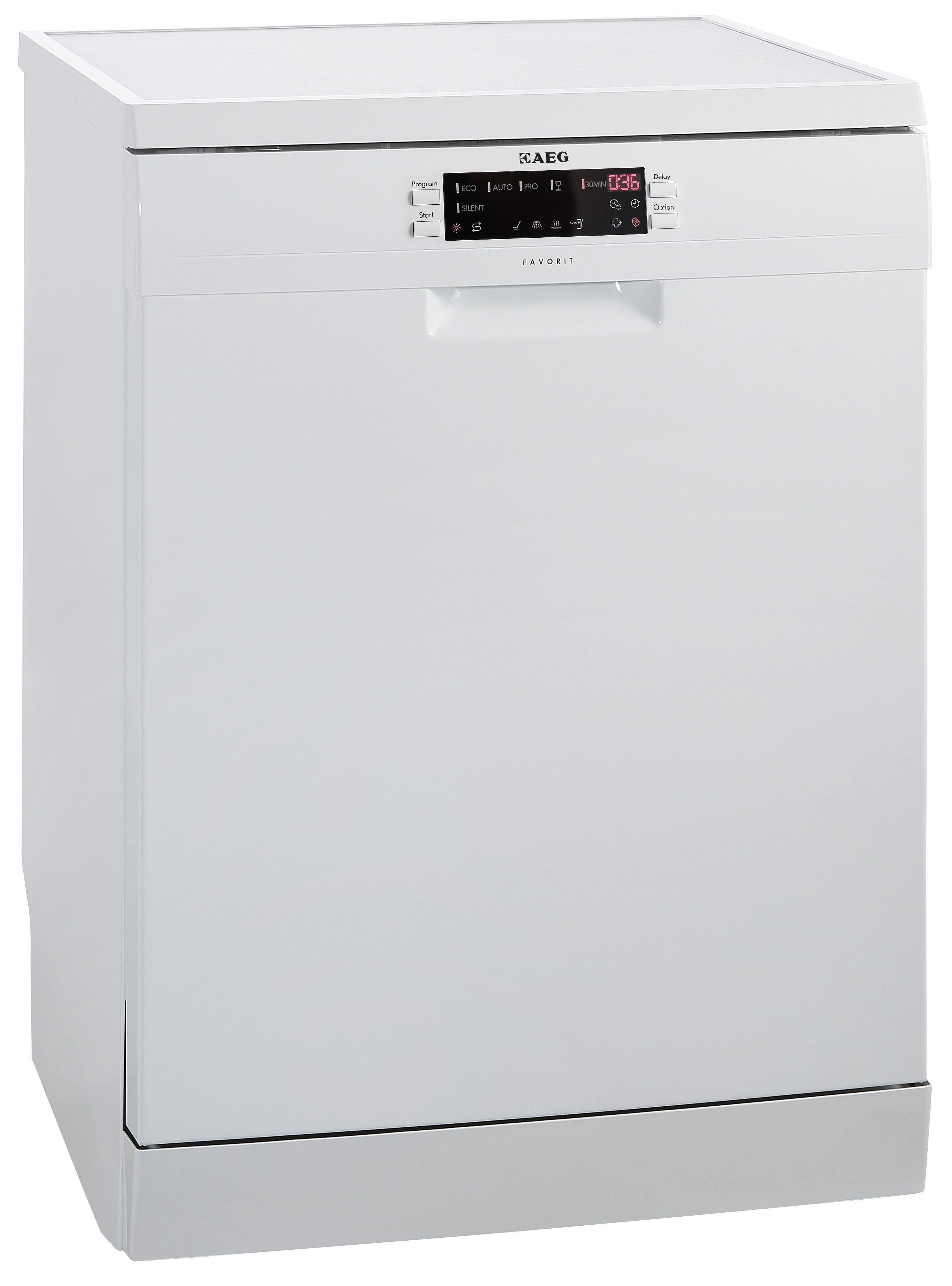 AEG Standgeschirrspüler FAVORIT F65712W0P, A+++, 11 Liter, 15 Maßgedecke