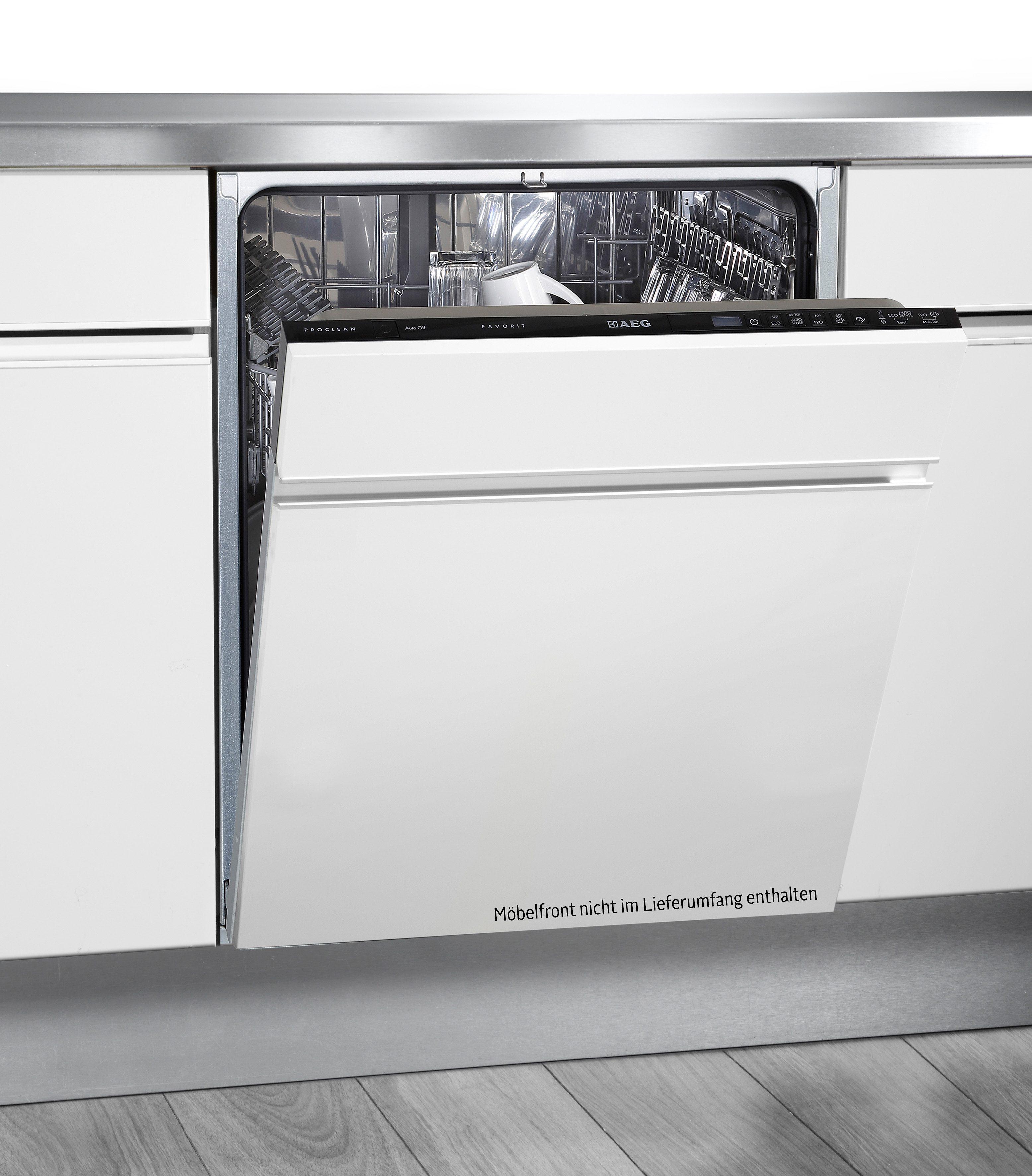 AEG vollintegrierbarer Geschirrspüler FAVORIT F55602VI0P, A++, 10,2 Liter, 13 Maßgedecke