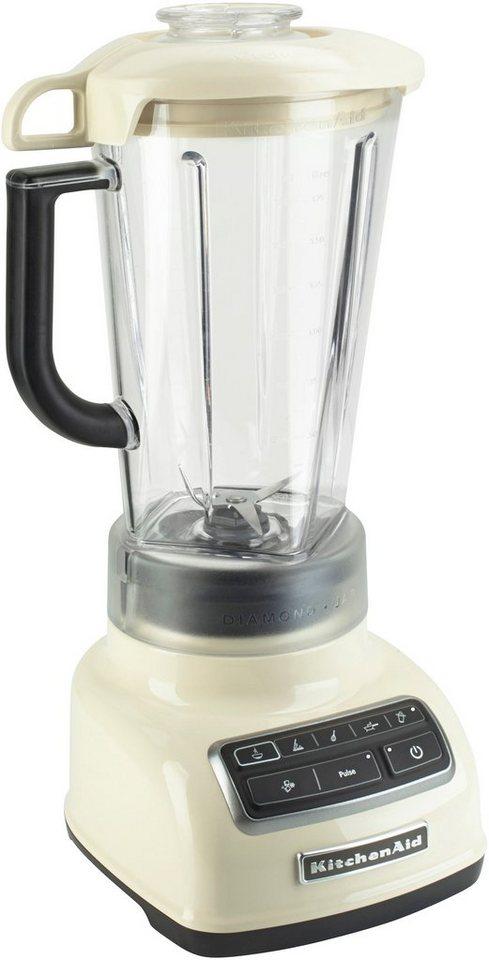 KitchenAid Standmixer »5KSB1585EAC«, 550 Watt, crème
