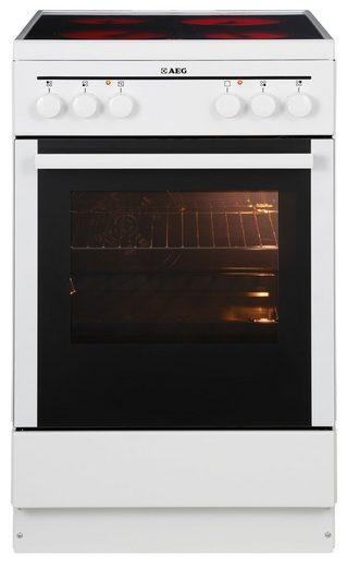 aeg standherd 40095va wn competence a 50 cm breit online kaufen otto. Black Bedroom Furniture Sets. Home Design Ideas