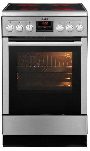 AEG Elektro-Standherd 47995VD-MN / COMPETENCE, mit Grillfunktion