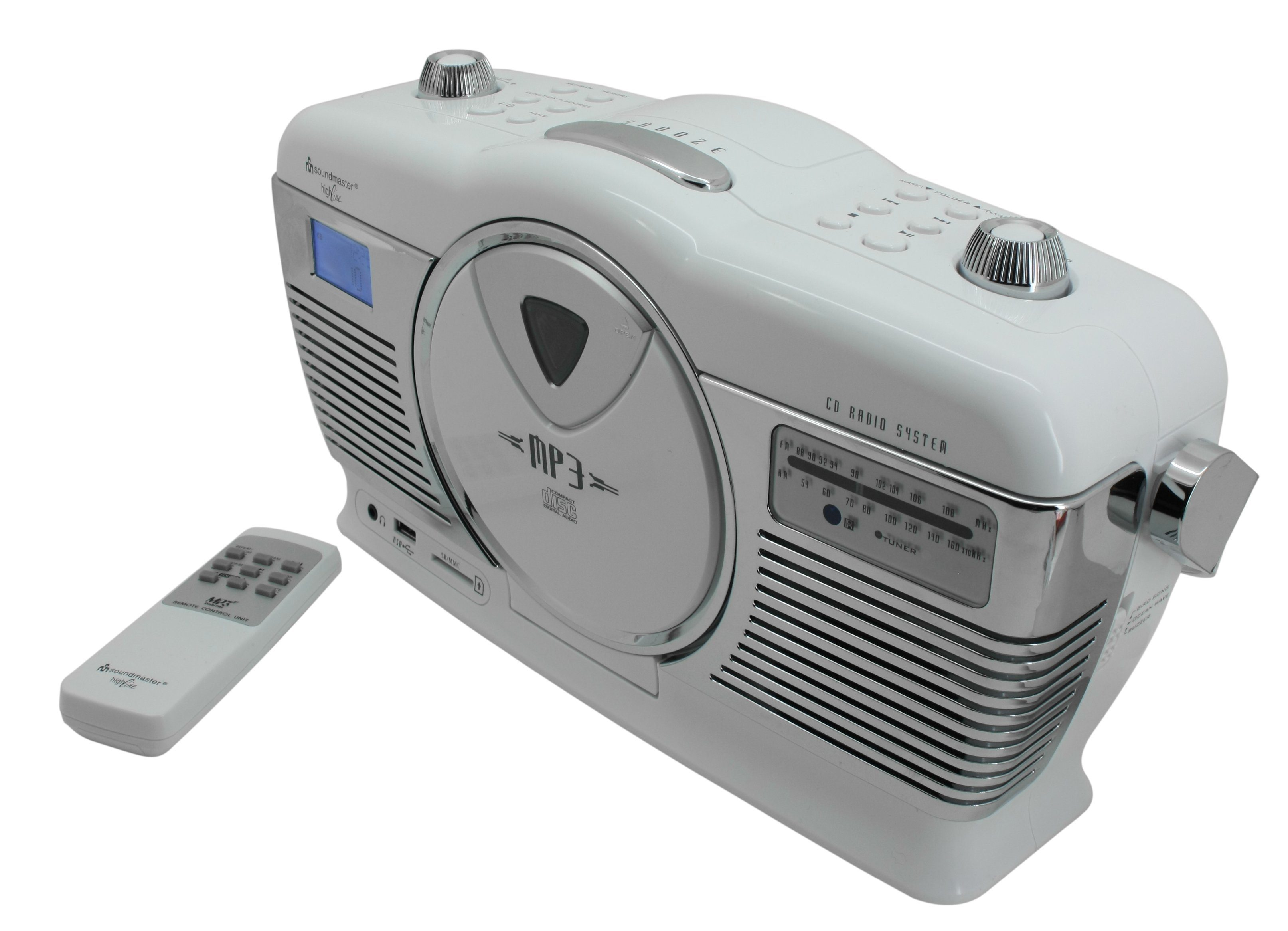 soundmaster CD-Radio tragbar »RCD1350WS«