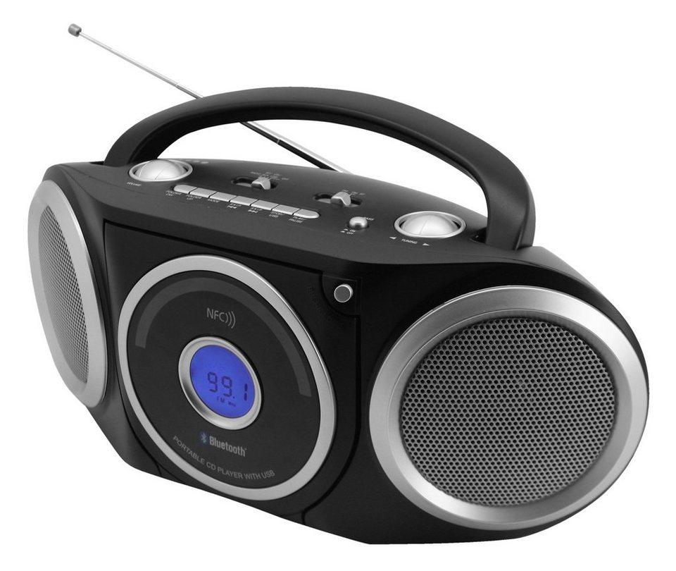 soundmaster CD-Radio tragbar »RCD5000SW« in Schwarz