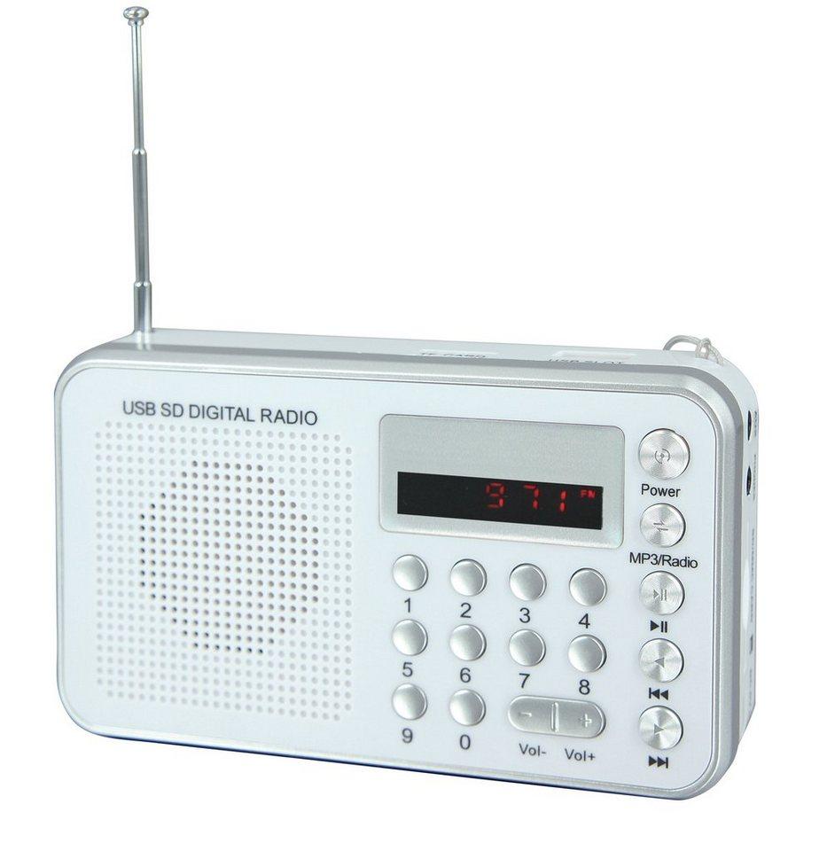 soundmaster Weltempfänger »TR150WS« in Weiß