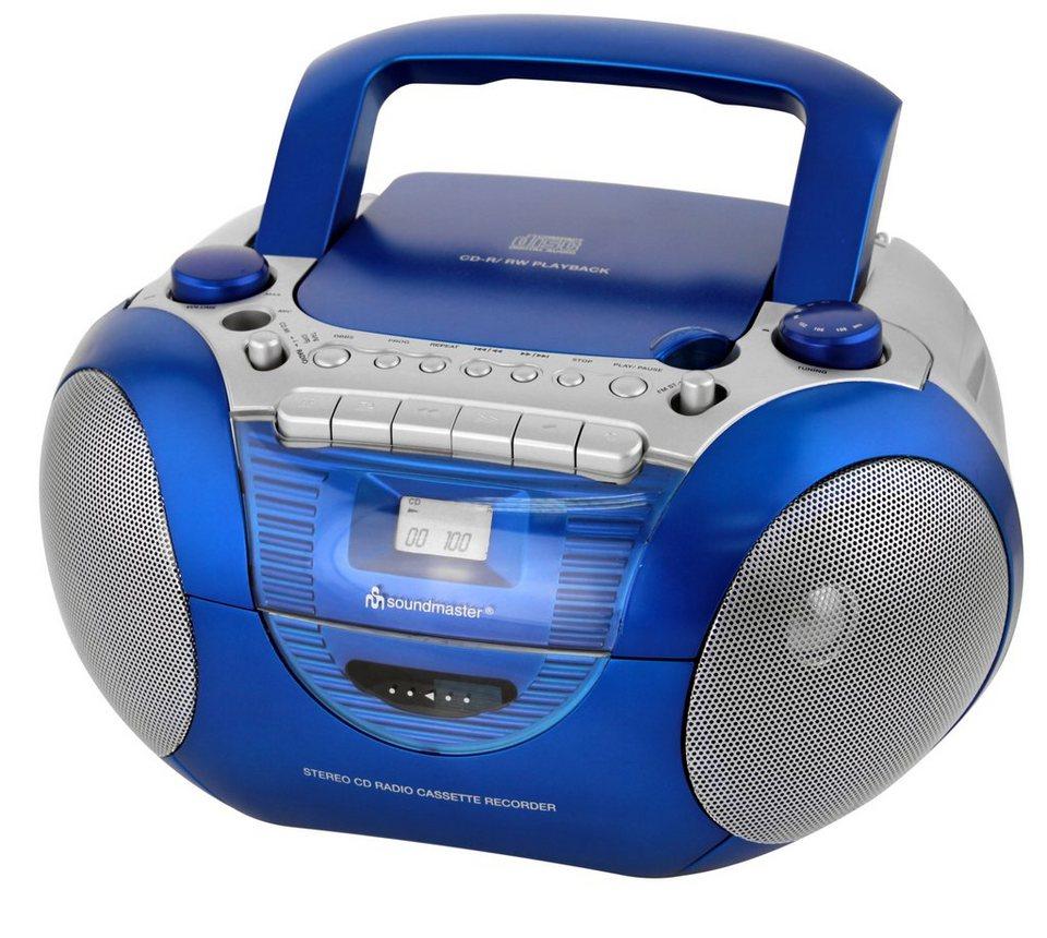 soundmaster CD-Radio »SCD5350BL« in Blau