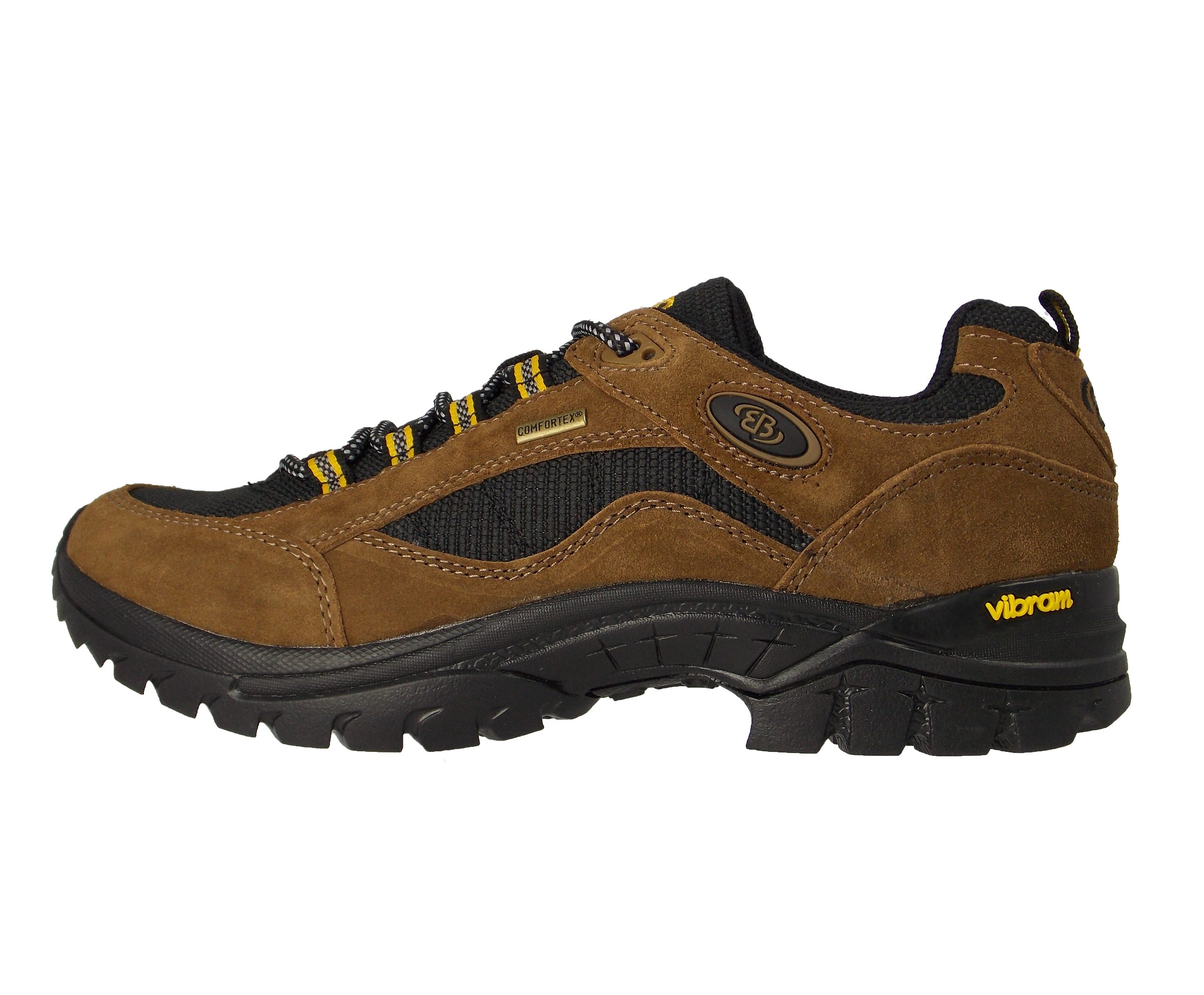 Brütting Funktioneller Outdoorschuh mit VIBRAM-Sohle, COMFORTEX-Membrane GRAND CANYON online kaufen  braun#ft5_slash#schwarz#ft5_slash#gelb