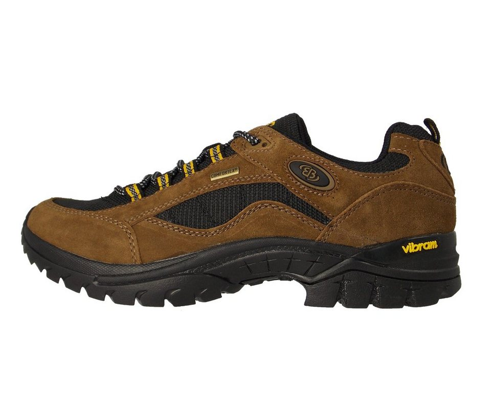 Brütting Funktioneller Outdoorschuh mit VIBRAM-Sohle, COMFORTEX-Membrane »GRAND CANYON« in braun/schwarz/gelb