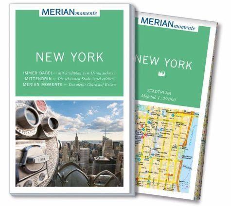 Broschiertes Buch »MERIAN momente Reiseführer New York«