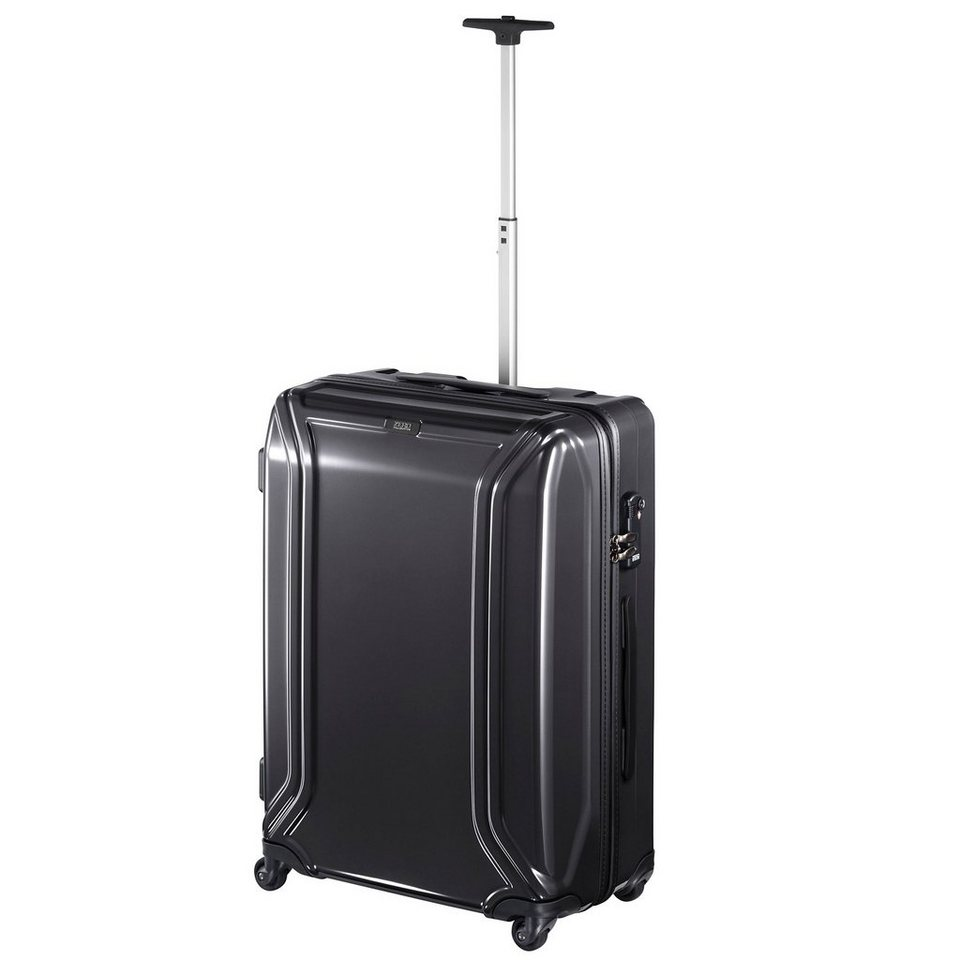 Zero Halliburton Zero Air II 4-Rollen Trolley 62 cm in black