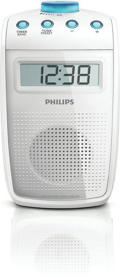 Philips Badezimmer-Radio »AE2330/00 Weiss«