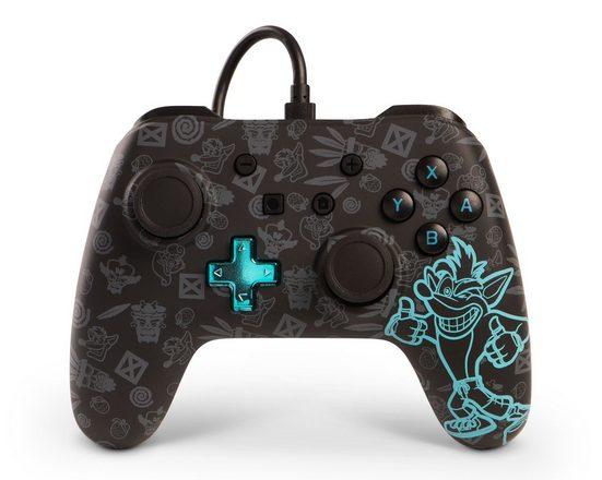 PowerA »Crash Bandicoot Wired Controller für Nintendo Switch« Nintendo-Controller