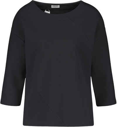 GERRY WEBER 3/4-Arm-Shirt Design in Rippenoptik