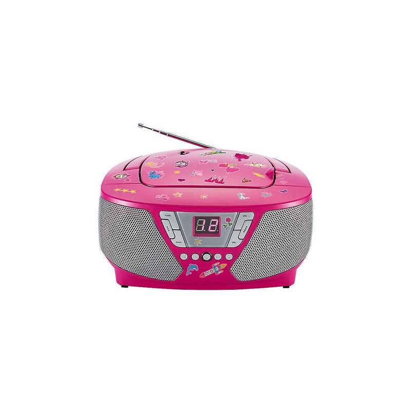 BigBen »CD-Player mit Radio CD60 - Kids (pink)« CD-Player