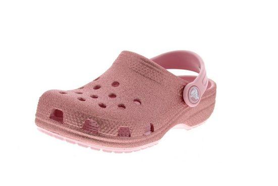 Crocs »Classic Glitter« Clog Blossom