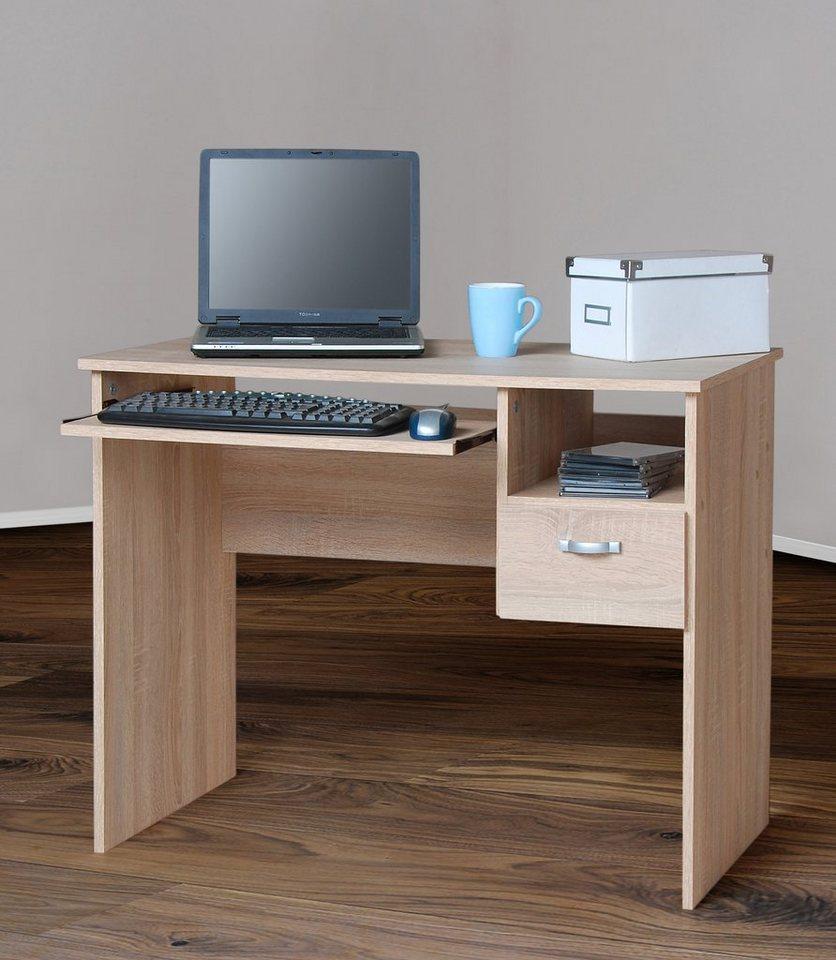 schreibtisch flo 1 mit tastaturauszug kaufen otto. Black Bedroom Furniture Sets. Home Design Ideas