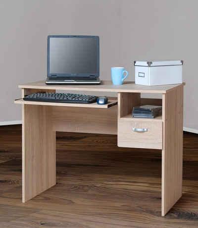 Schreibtisch » Flo 1« Mit Tastaturauszug