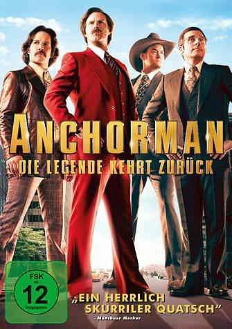 DVD »Anchorman - Die Legende kehrt zurück«