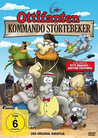 DVD »Ottos Ottifanten - Kommando Störtebeker«