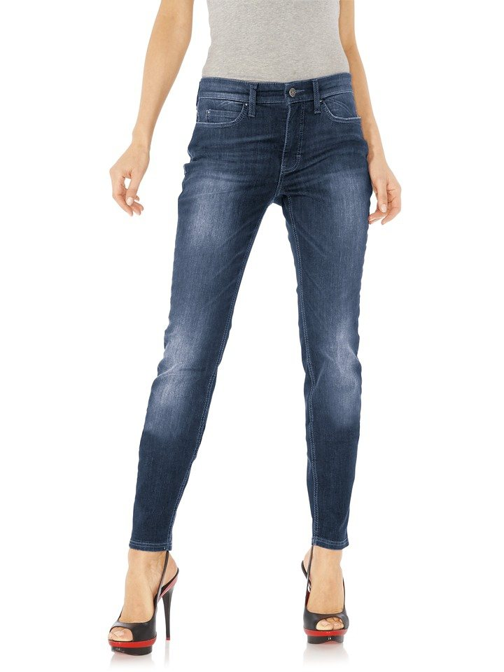 MAC Jeans DREAM SKINNY in blue denim