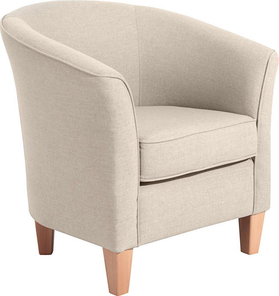 max winzer cocktailsessel in runder form luisa mit holzf en online kaufen otto. Black Bedroom Furniture Sets. Home Design Ideas