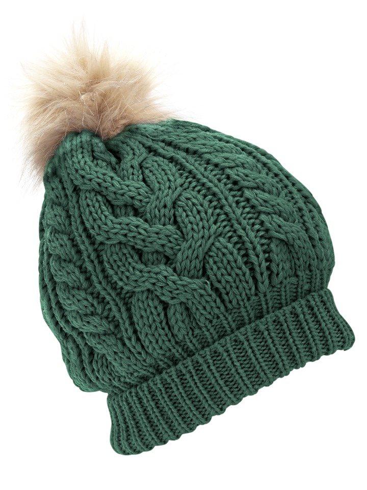 Mütze in grün