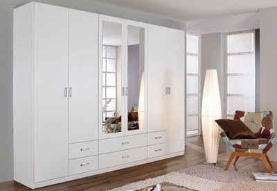 Kleiderschrank weiß hochglanz schiebetür  Kleiderschrank online kaufen » Schlafzimmerschrank | OTTO