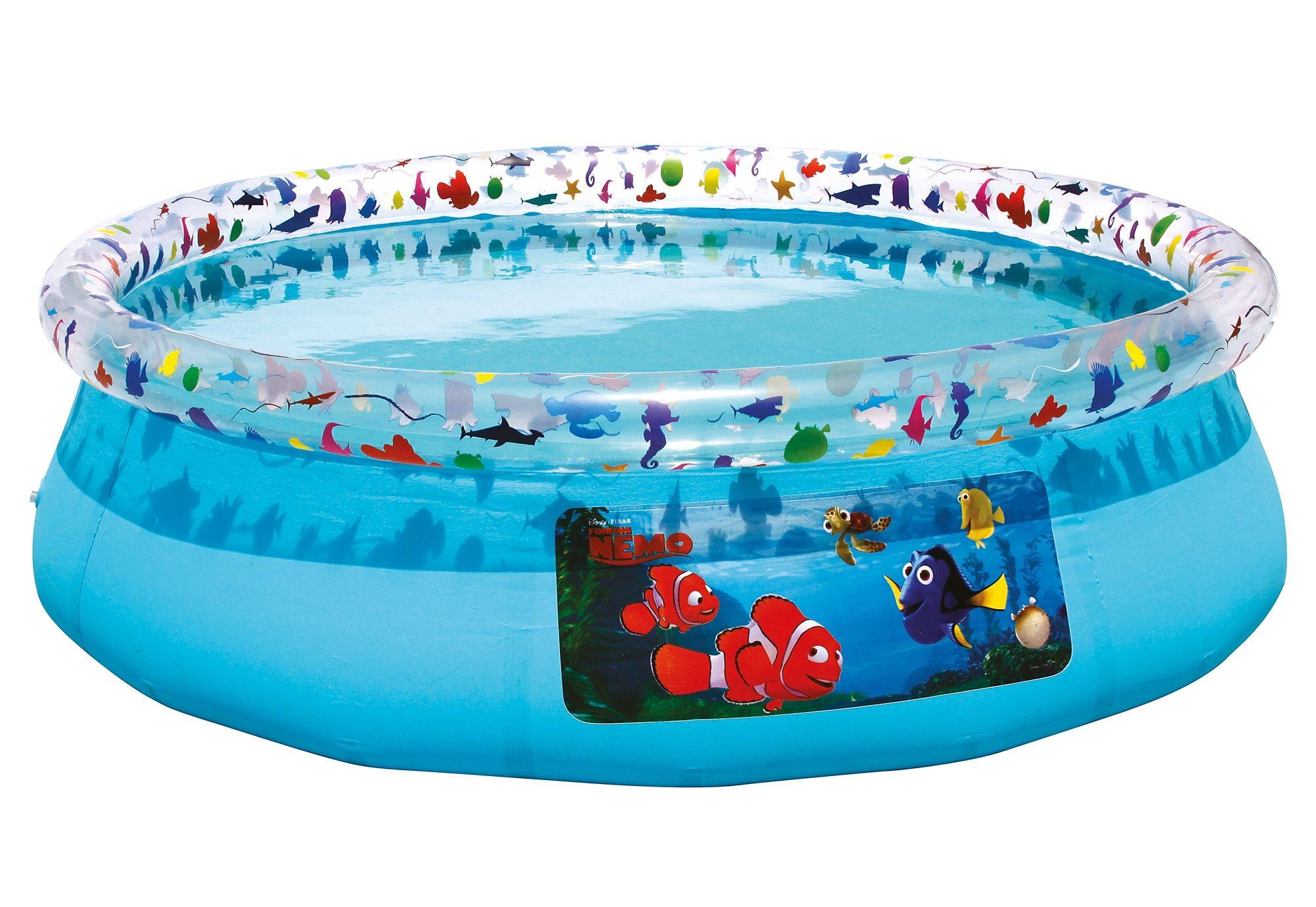 Kinderpool, 198 x 51 cm, »Findet Nemo«, Bestway